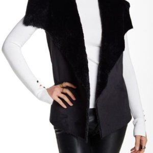 Romeo and Juliet Couture Vest Jacket - Black